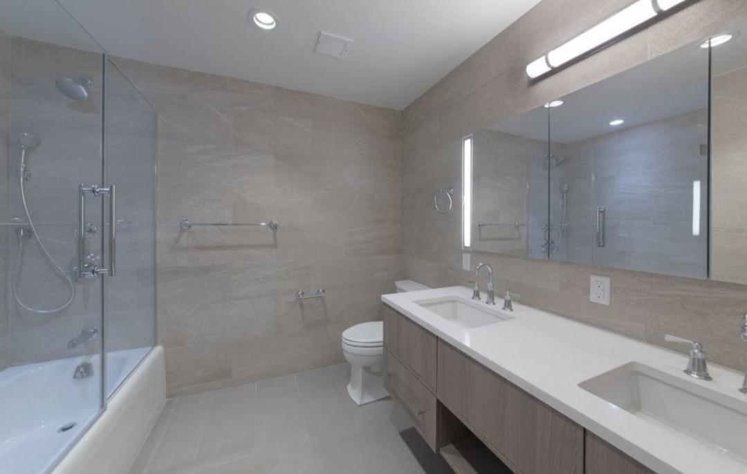 Bathroom at 110 Greenwich Street
