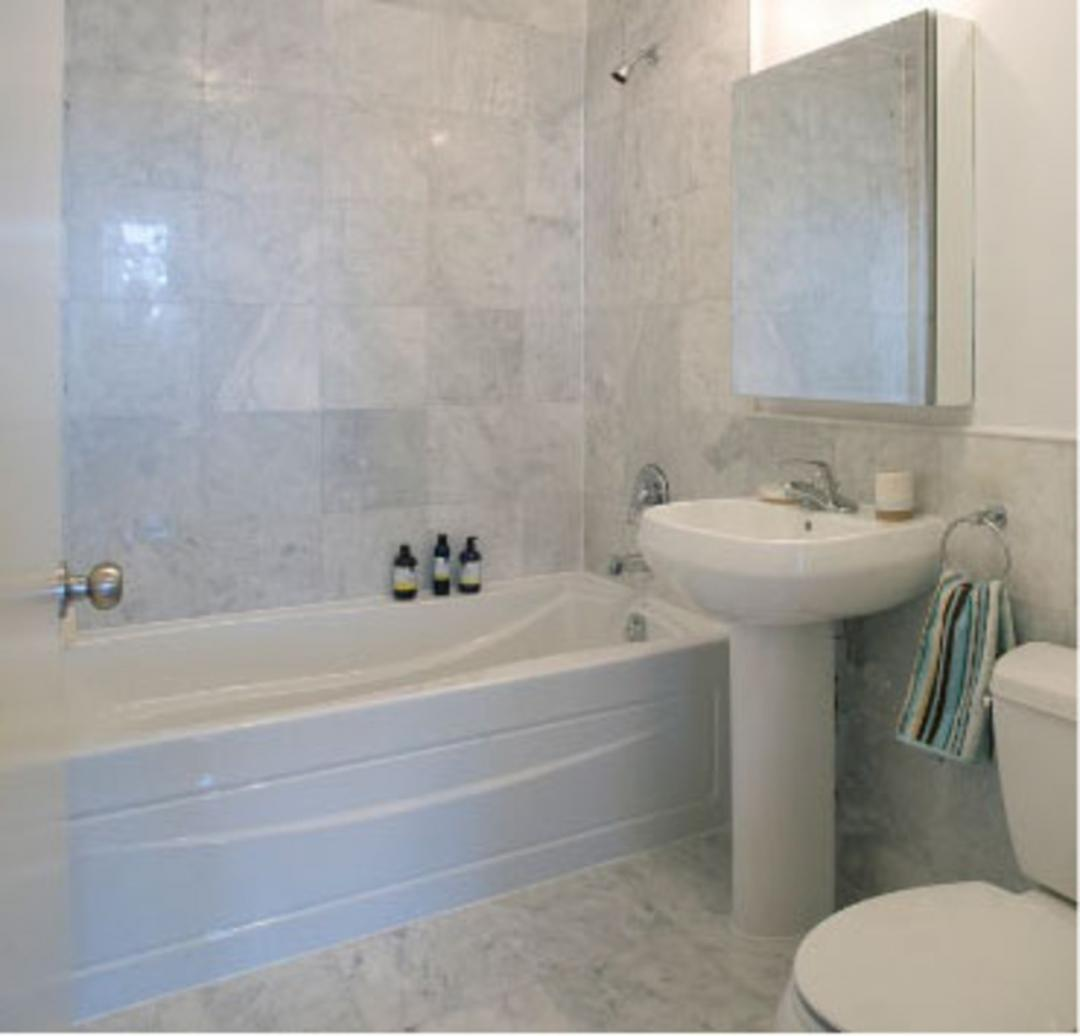1481 Fifth Avenue Bathroom - NYC Rental Apartments