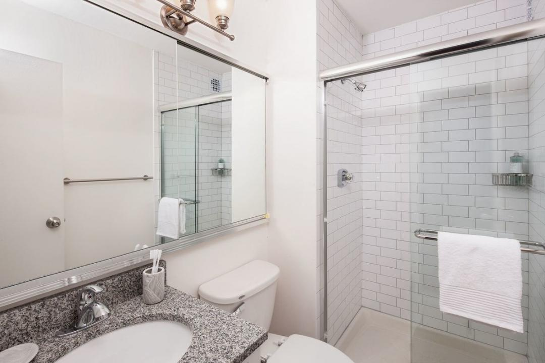 Bathroom at Gateway Plaza - 395 South End Avenue