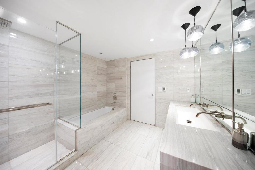 Bathroom at 135 West 52nd Street