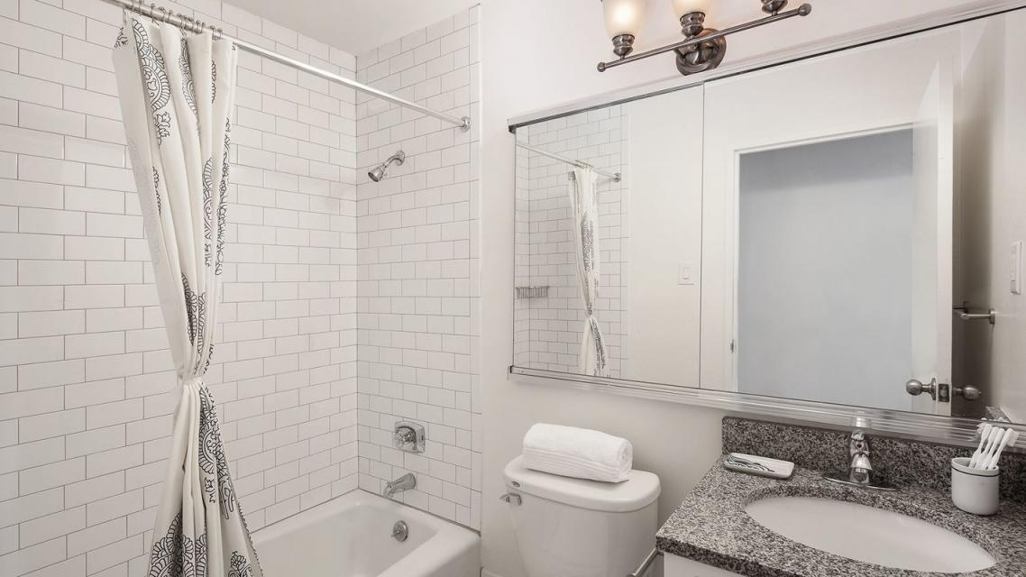 Bathoom at 365 South End Avenue