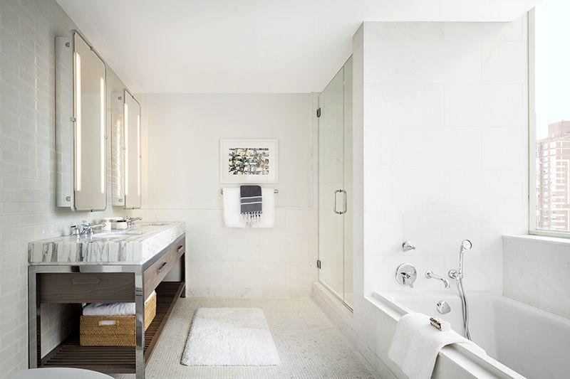 Bathroom at 389 East 89th Street