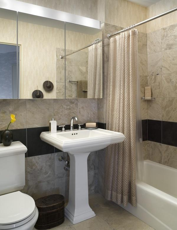 Bathroom at Tribeca Park - luxury rentals nyc