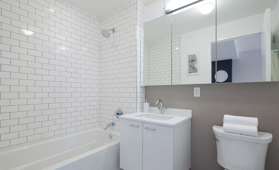 Bathroom - Condominiums at The Union for Rent in Brooklyn