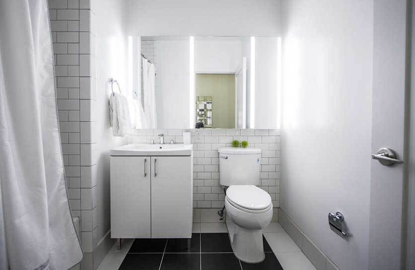 Apartments for rent at 70 Pine Street - Bathroom