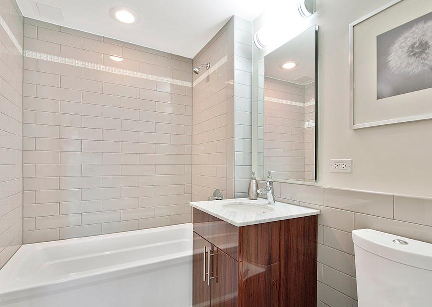 Bathroom at Acacia- NYC apartment for rent