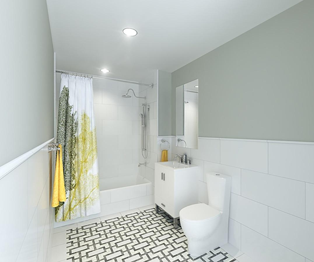 Bathroom at Central Park Gardens - 50 West 97th Street