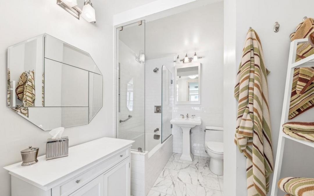 Bathroom at Dorchester Towers - 155 West 68th Street
