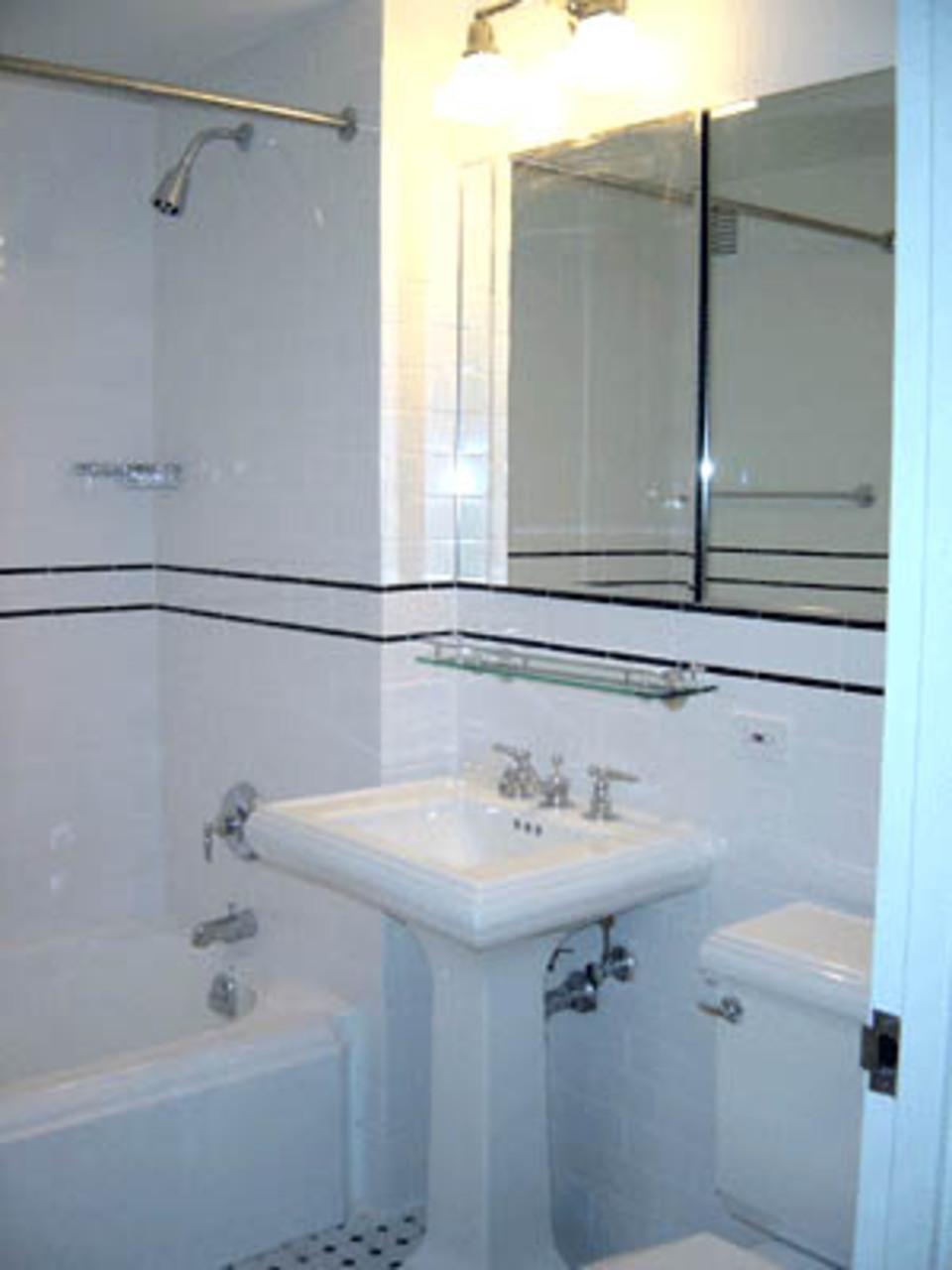 Ivy Tower rental building Bathroom - NYC Flats