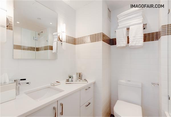 Bathroom - The Jumeirah Essex House Apartments - Central Park South