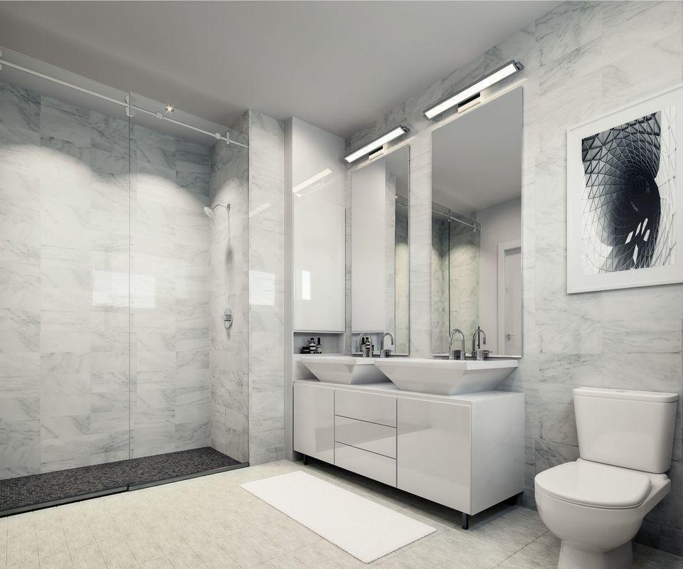 Bathroom at ML House - 1050 Sixth Avenue