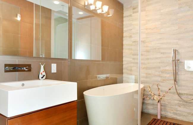 Bathroom in the Murano, Condo in Queens