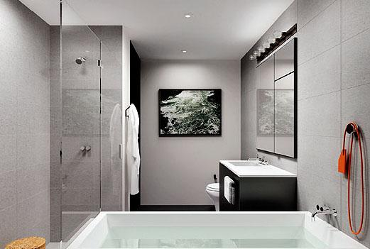 +Art Bathroom - New Condos for Sale NYC