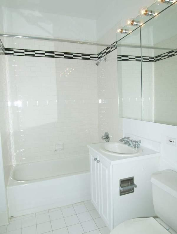 Bathroom - Post Towers - Financial District - Manhattan - Apartment For Rent