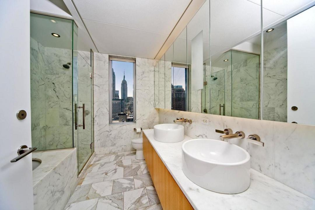 Bathroom at The Centria - 18 West 48th Street