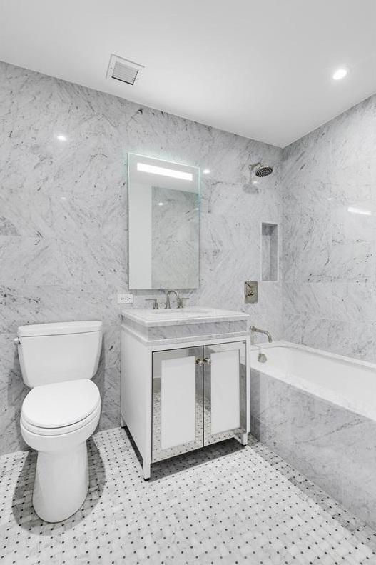 Bathroom at The Prewar at Gramercy Square - 225 East 19th Street