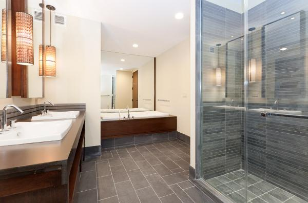Bathroom in luxurious apartment - The Setai