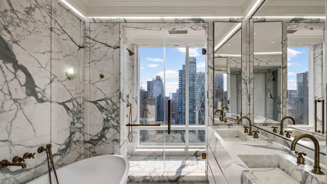 Bathroom at Trump International - 1 Central Park West