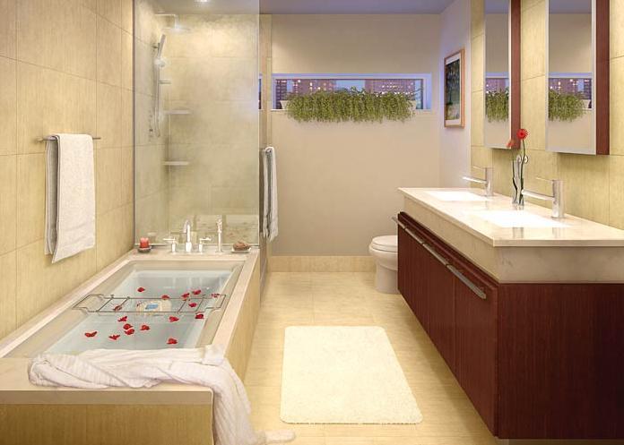 Twenty 9th Park Madison Bathroom - New Condos for Sale NYC
