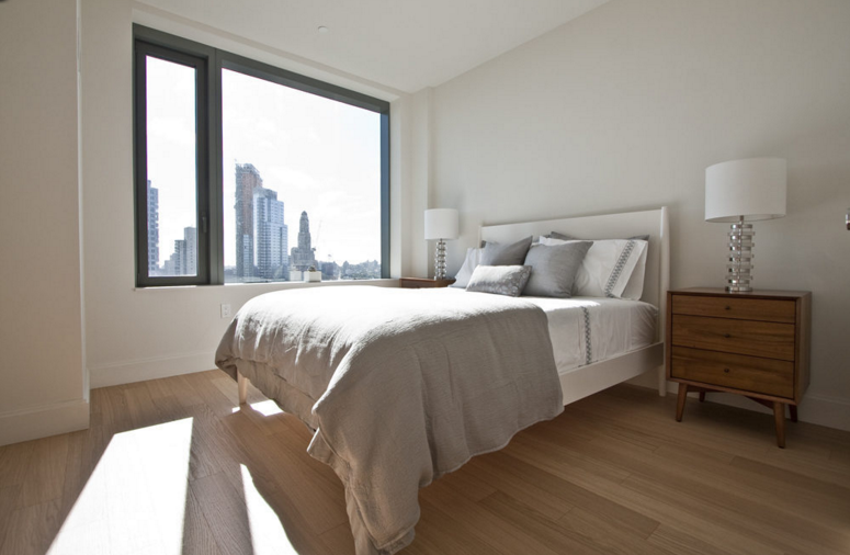 Rentals at 10 City Point in Brooklyn - Bedroom