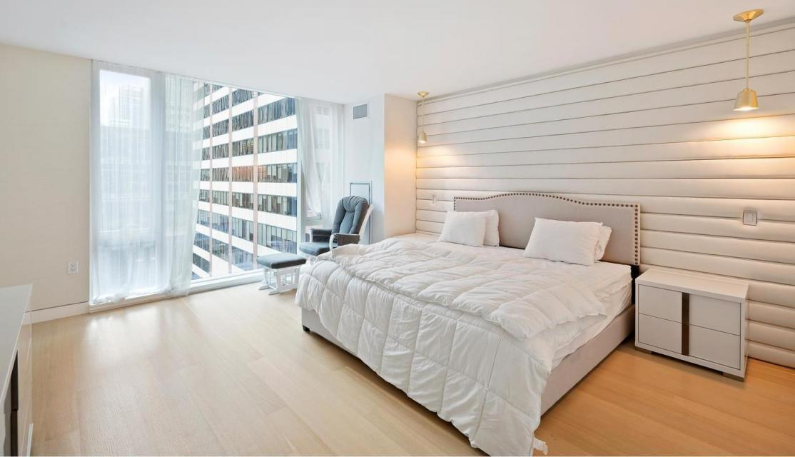 Bedroom at 135 West 52nd Street