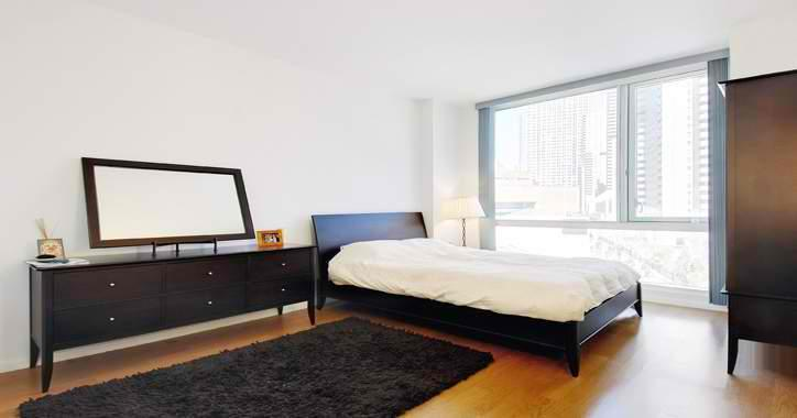 200 Chambers Street Bedroom - Condominiums for Rent NYC
