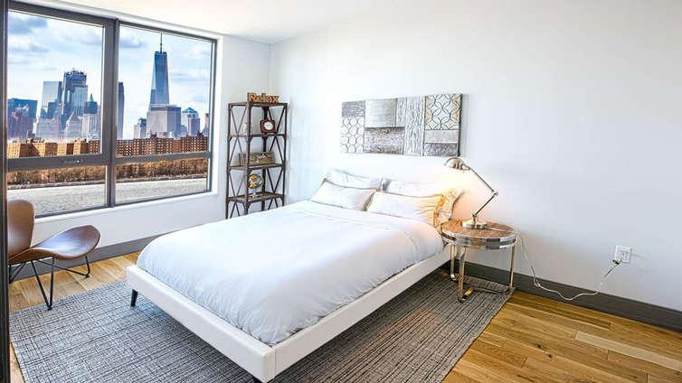 Bedroom at 26 West Street - NYC Apartments for rent