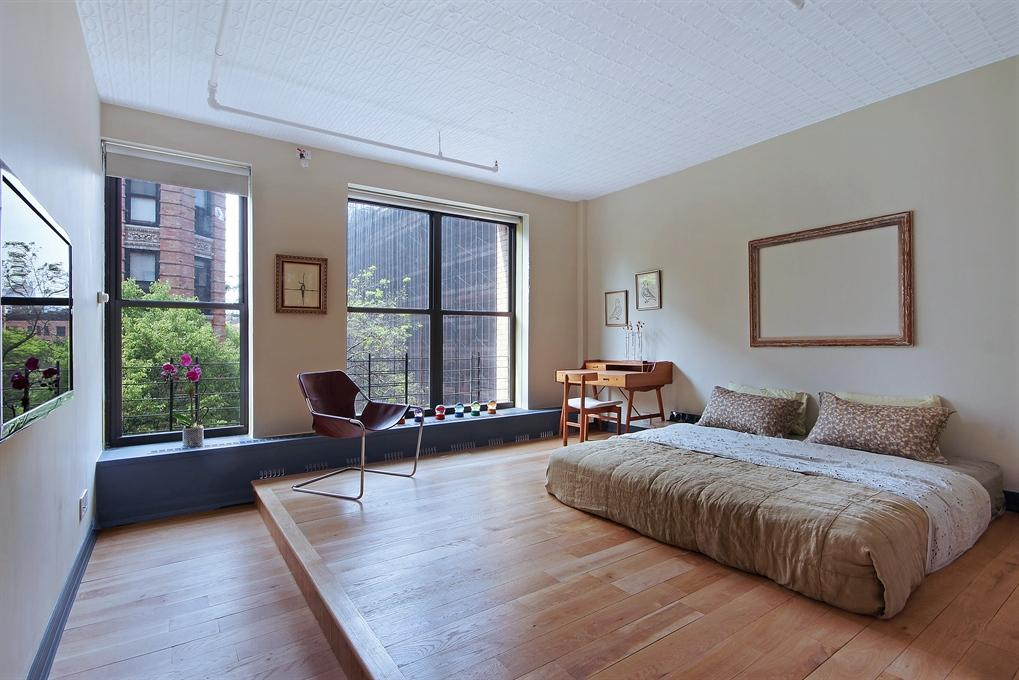 Photo of the Master Bedroom in 27 Bleecker Street Manhattan Rental
