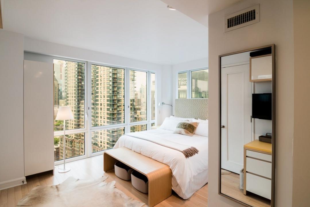 Bedroom at The Rushmore - 80 Riverside Boulevard