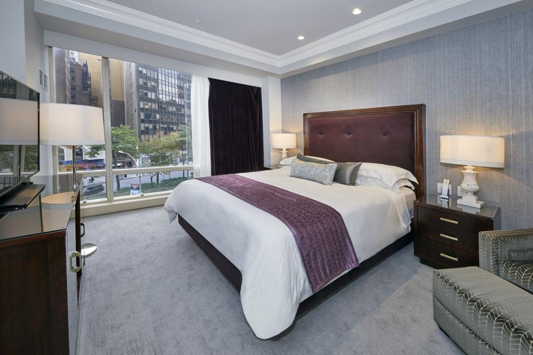 Bedroom at Trump International - 1 Central Park West