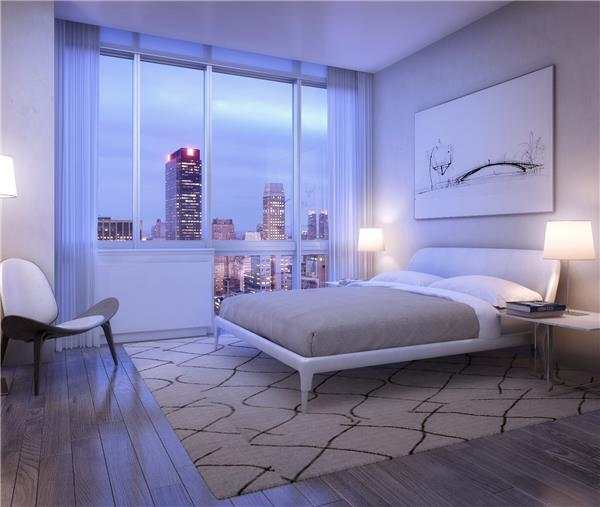 Bedroom of the Dylan- NYC Apartments for rent in Murray Hill