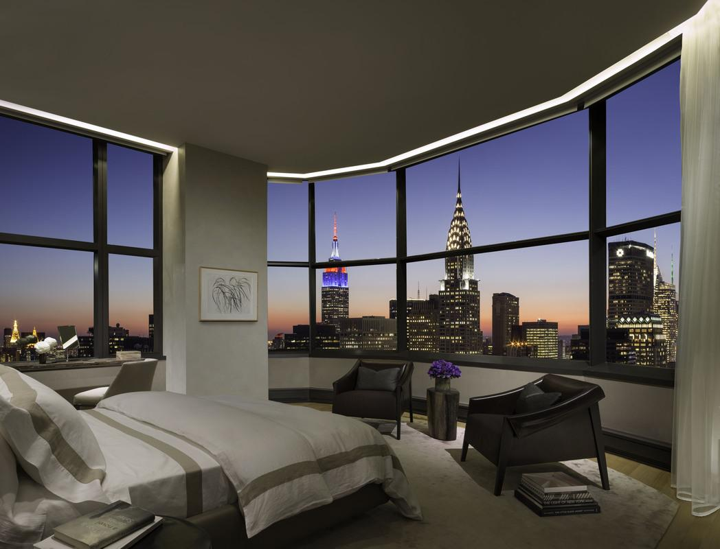 Bedroom at 50 United Nations Plaza