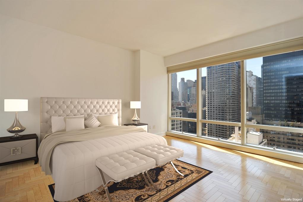 845 United Nations Plaza Bedroom - NYC Condos for Rent
