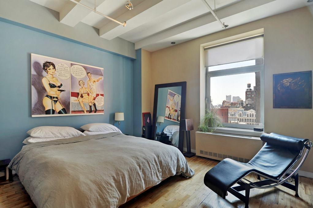 Bedroom in 14 East 4th Street, Silk Building, Apartments for Rent