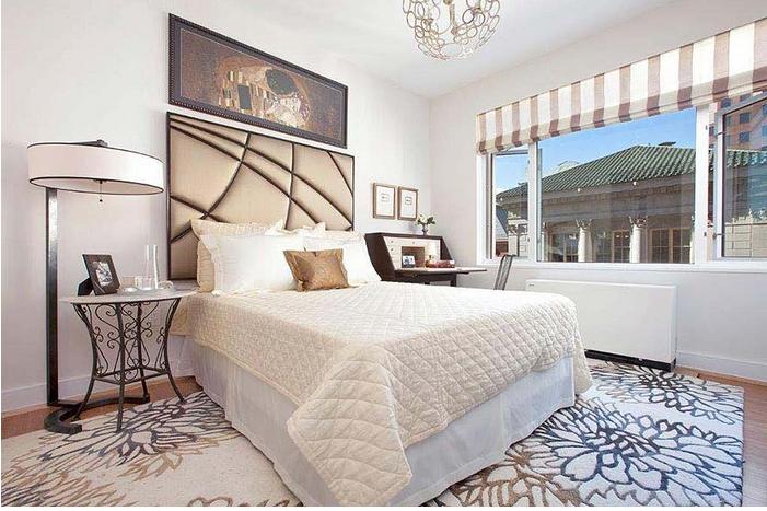 Bedroom at 75 Clinton Street, Brooklyn Heights Apartments