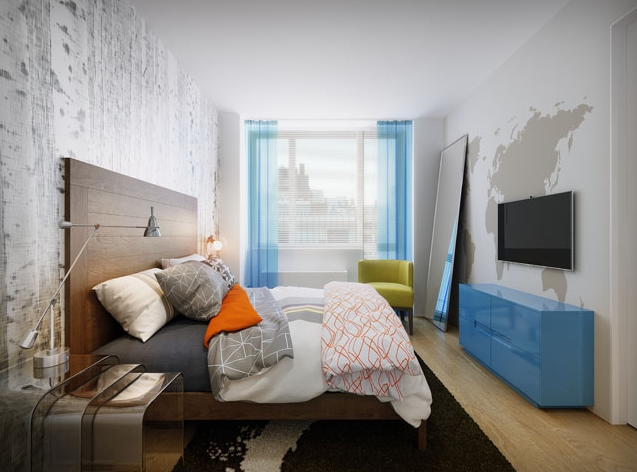 AVA Highline Bedroom- West Chelsea Rental Apartments