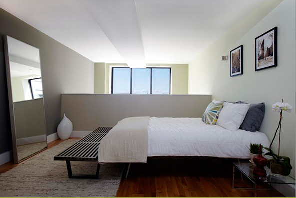 Bedroom at 360 Furman Street Brooklyn Heights, Condominiums for Rent in Brooklyn