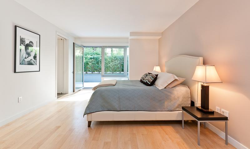 Bedroom at Chelsea Modern - 447 West 18th Street