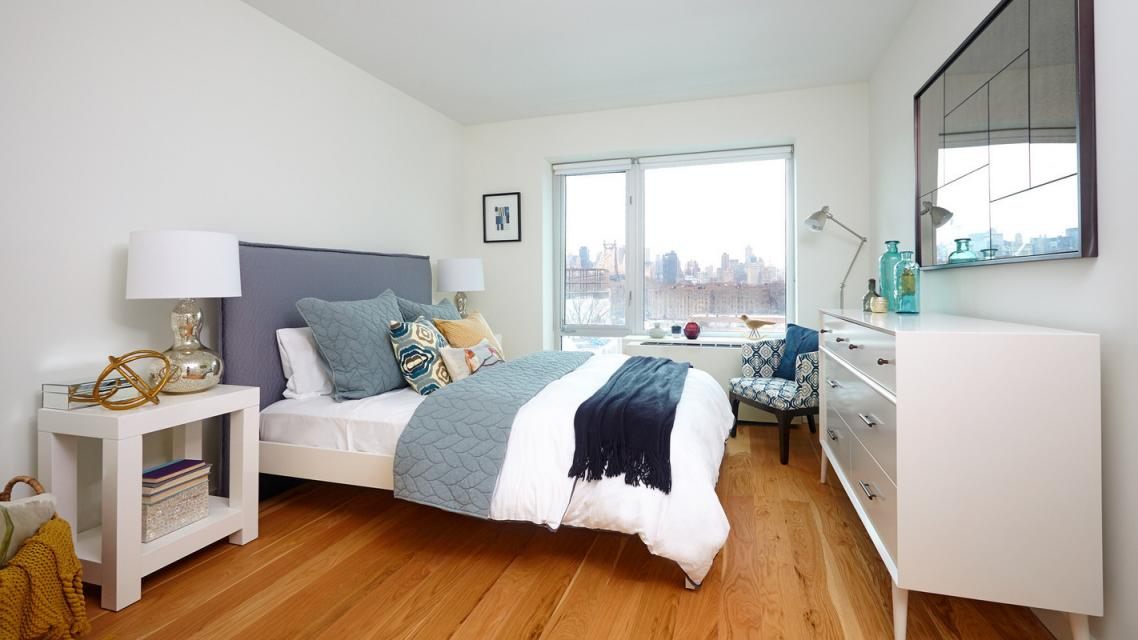 Bedroom at No. 3 Packard Square - 41-21 24th Street