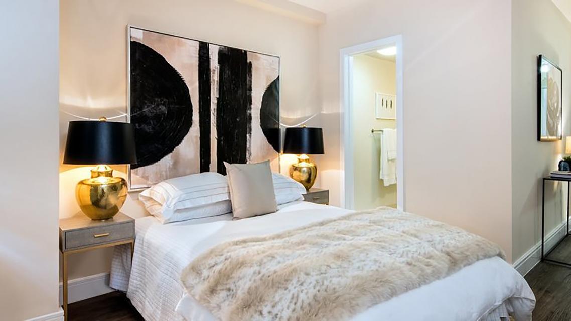 Bedroom at Renoir House - 225 East 63rd Street