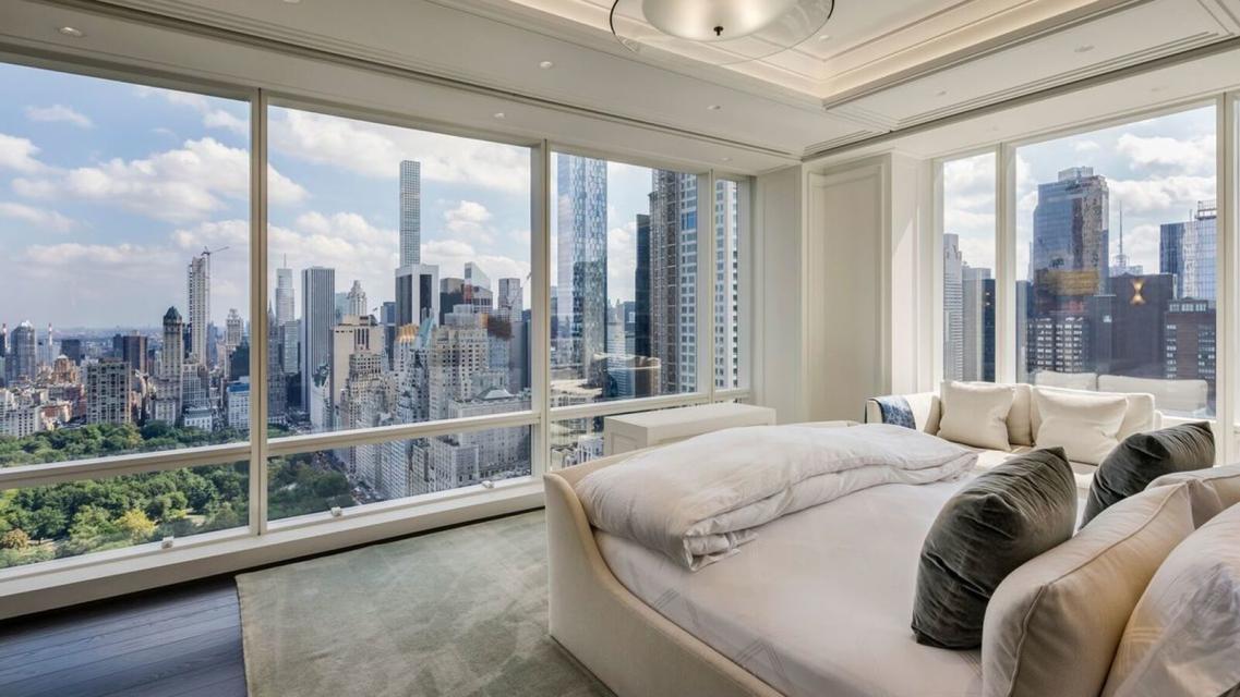 Bedroom at Trump International - 1 Central Park West