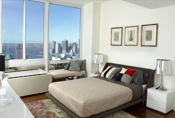 Bedroom with View - 111 Lawrence Street Condos