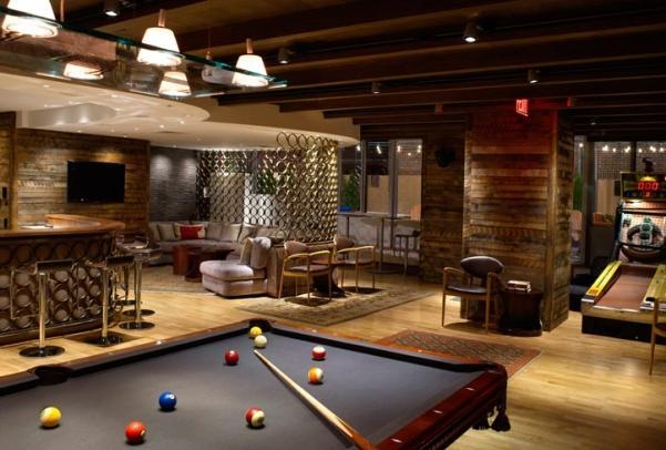 Billiard Room - 111 Lawrence Street Brooklyn