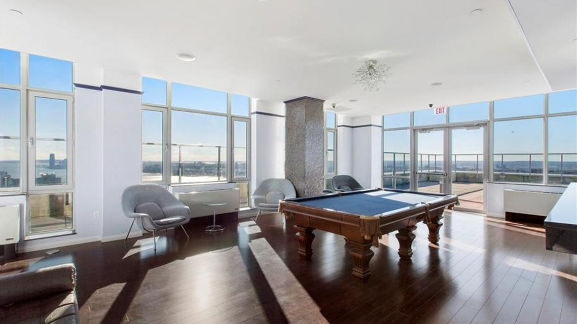 Billiards Room at Atelier - 635 West 42nd Street