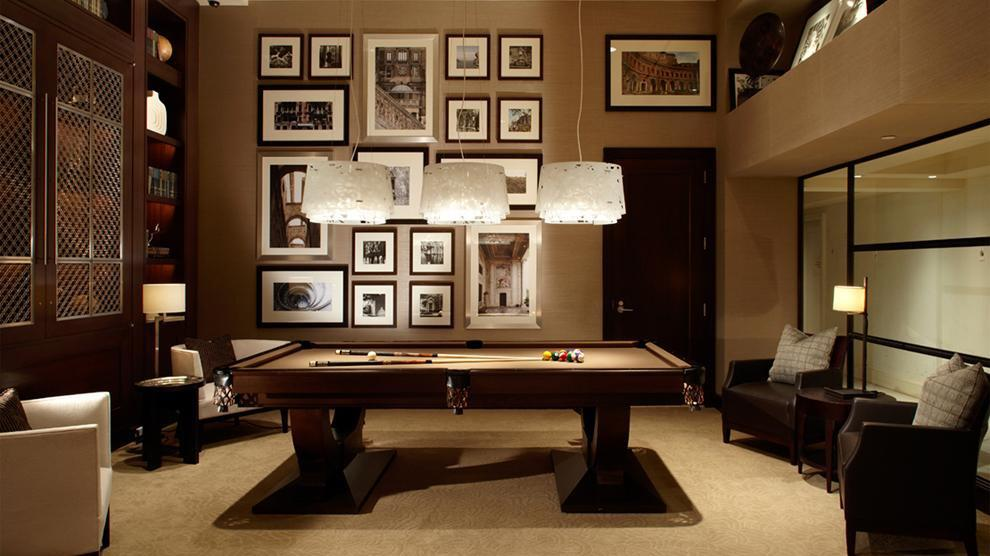 Billiard Room at The Rushmore - 80 Riverside Boulevard