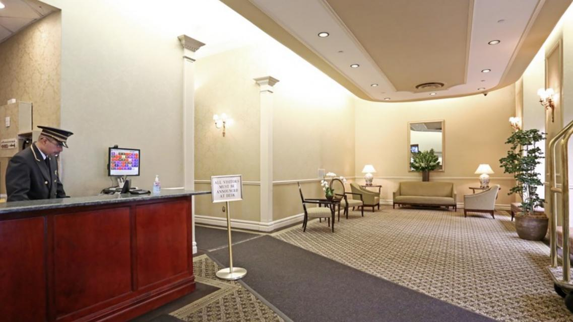 Biltmore Plaza Lobby - Manhattan Apartments for rent