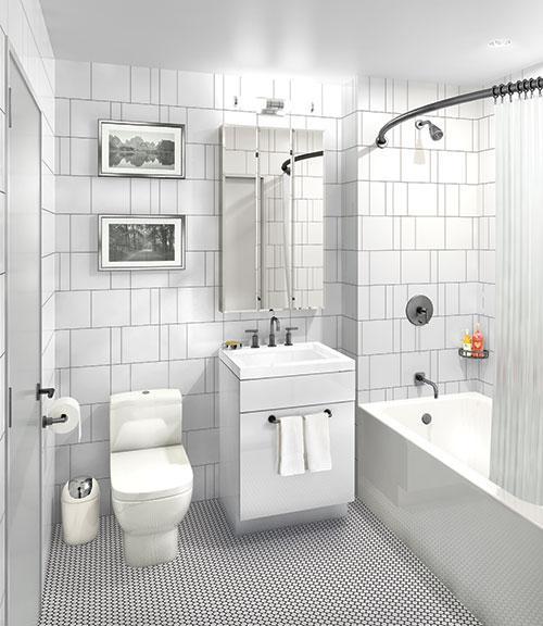 Bathroom - Brooklyn Warehouse 180 - 180 Nassau Street Condo For Rent