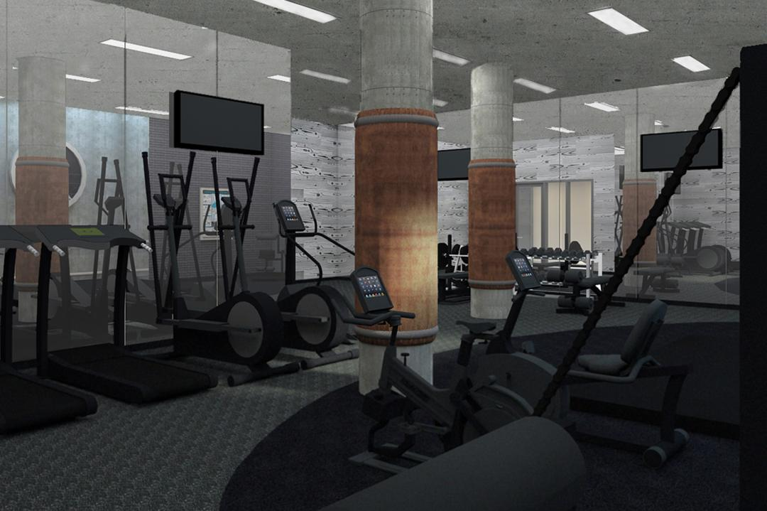 Fitness Room - Brooklyn Warehouse 180 - 180 Nassau Street Condo For Rent
