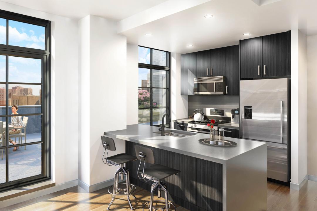 Kitchen - Brooklyn Warehouse 180 - 180 Nassau Street Condo For Rent