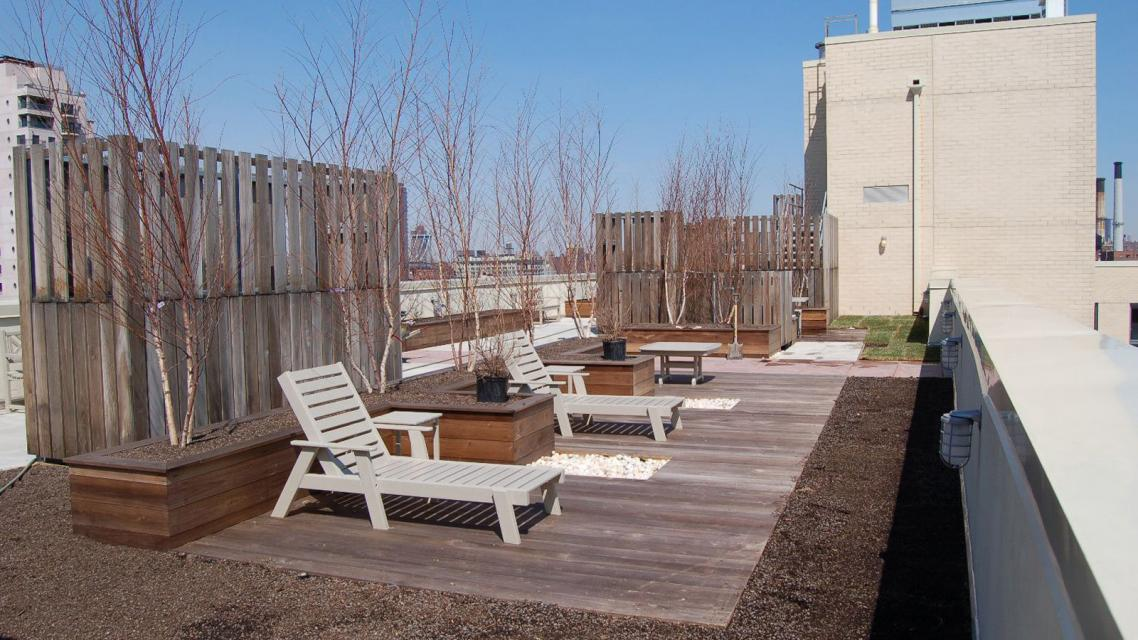 Recreational Roof- Apartments for Rent at BKLYN Gold